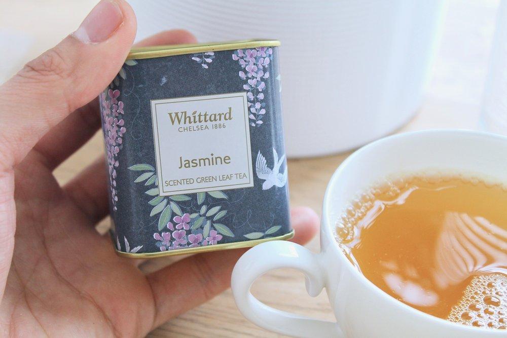1 teacup (not a mug) of herbal tea from Whittard. No animal milk.