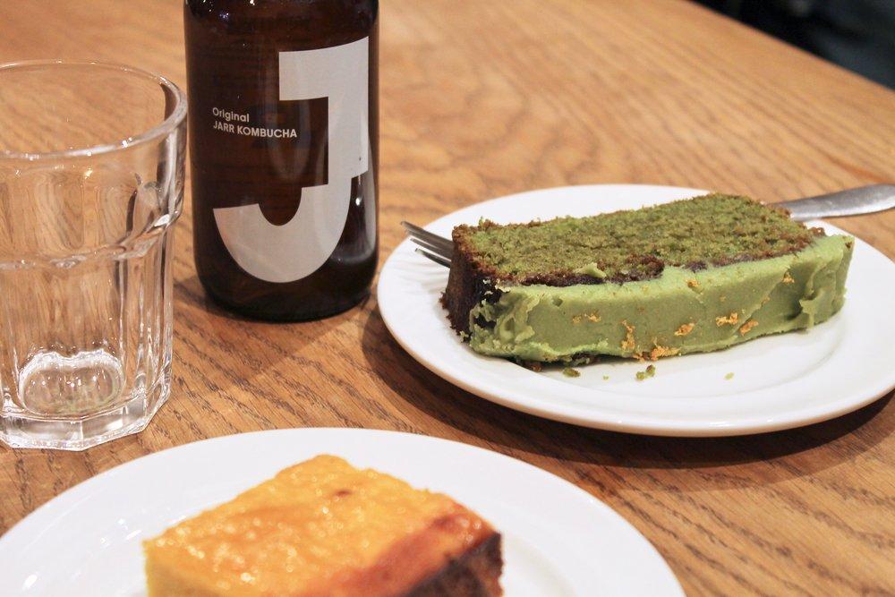 This green Matcha cake hits the spot