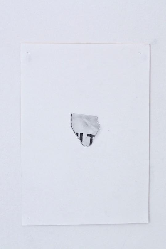 Shit, 2013, pencil on paper, 15cm x 21cm