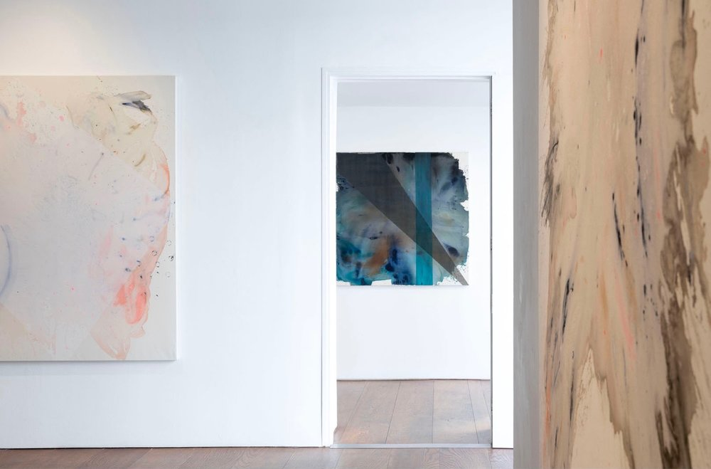 Clare Price Paintings Installed