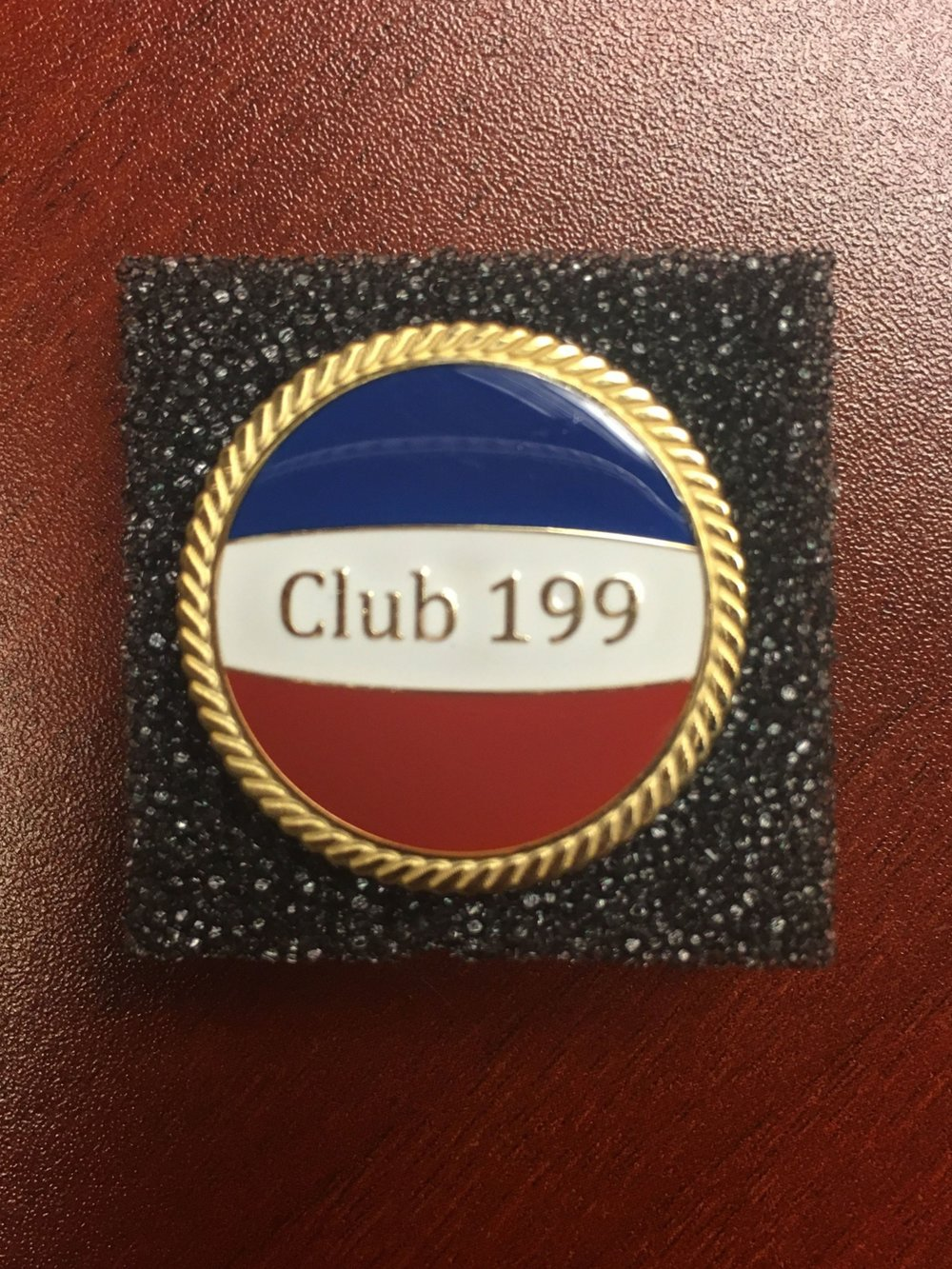 2019 Club 199 Pin! Made in the USA!