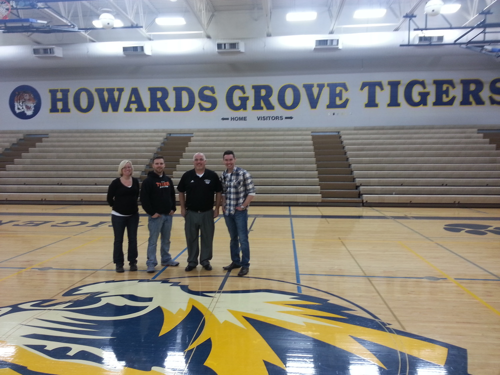 Howards Grove High School - 3/24/14