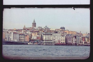 The Istanbul skyline from the ferry – a trip recommended by reviews.