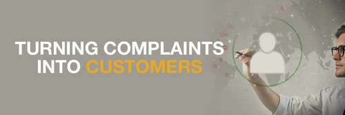 Turning Complaints into Customers
