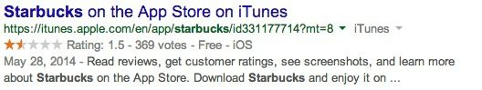 On the other hand, if Rich Snippets are being used, Google can now display specific and relevant information about the actual result - this includes whether the searched keyword(s) are a review, person, product, business, etc.