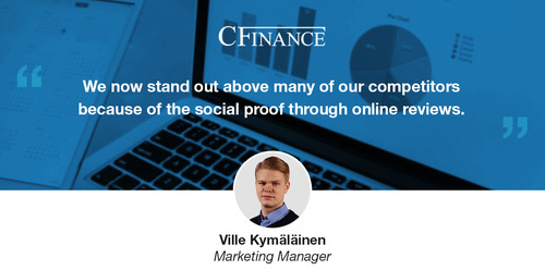 Q&A: How C Finance boosted conversion by 8% with consumer reviews