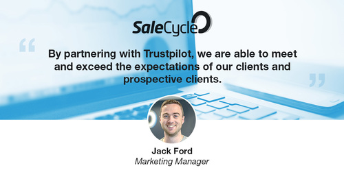 Why SaleCycle's Partnership With Trustpilot Is a Natural Fit