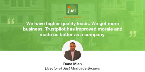 How Just Mortgage Brokers increased conversions 57% with reviews