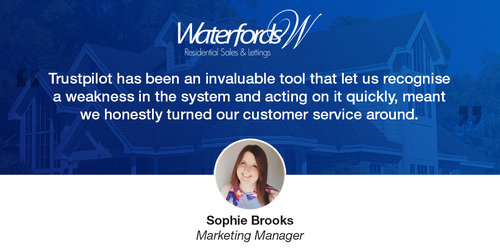 Waterfords: Giving Guaranteed Great Customer Service Thanks to Reviews