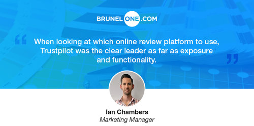Q&A: Brunel One Use Online Reviews to Boost Sales by 53%