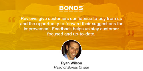 Bonds Use Online Reviews to Maintain a Customer Focus