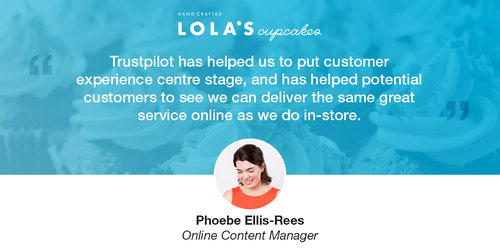 Q&A: Lola's Cupcakes Use Reviews to Sweeten Their Customer Experience