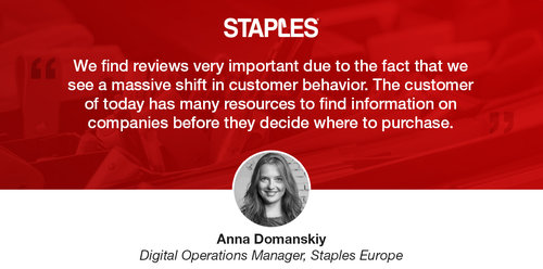6 ways Staples displays social proof throughout their purchase journey