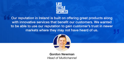 How Trustpilot Helped Life Style Sports Achieve Multi-National Success