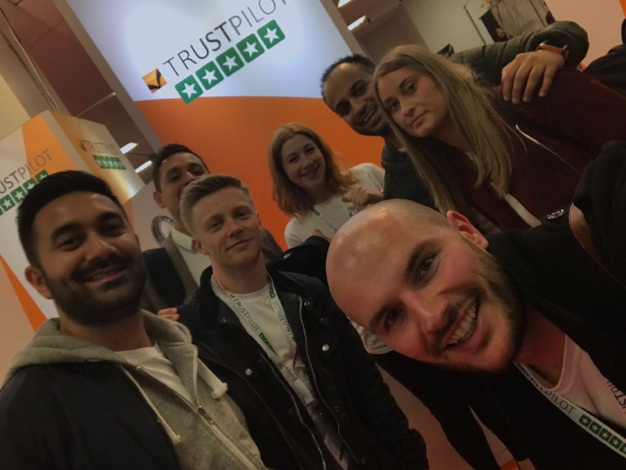 The Trustpilot Sales and Marketing teams, Day 2