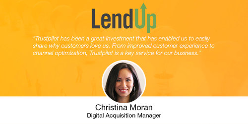 How LendUp Used Reviews As Social Proof To Increase Its Landing Page Performance