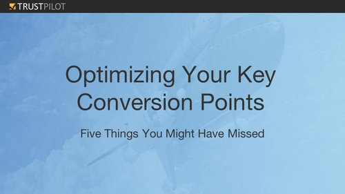 Properly Testing Conversion Rate Optimization: What eCommerce Marketers should prioritize [WEBINAR]