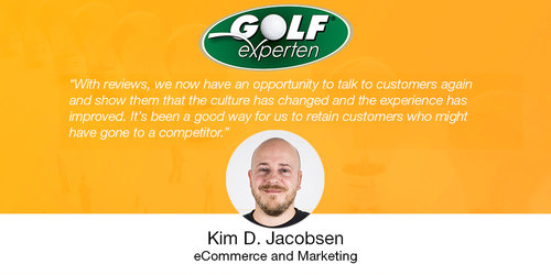 How Golf Experten Used Reviews To Improve Their Customer Experience
