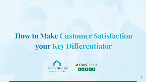How to make customer satisfaction your key differentiator [WEBINAR]