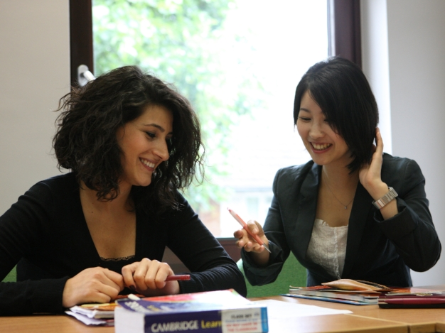 The school provides a wide range of English training including Corporate English Training for international companies