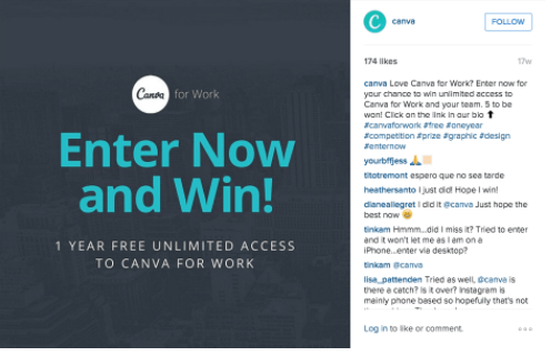 Example of Clear CTA On Social Post