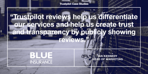 How Blue Insurance turned a growing customer base into advocates with Trustpilot