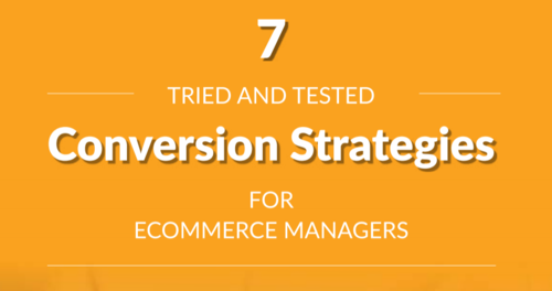 How to increase conversions for your eCommerce business [GUIDE]