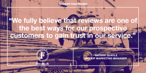 How Fords of Winsford uses reviews to build trust and drive brand reputation
