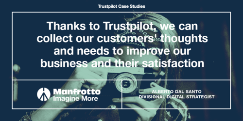 How Manfrotto uses reviews to build a customer centric strategy