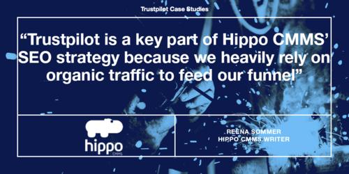 How Trustpilot helped Hippo CMMS improve their digital marketing performance