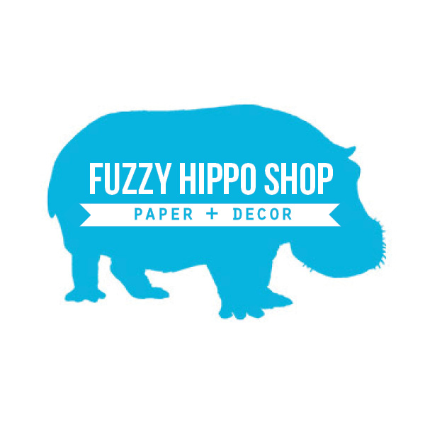 Fuzzy Hippo Shop | Paper + Decor