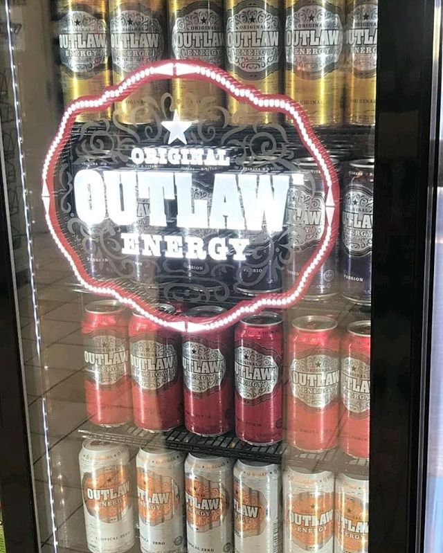 Need a boost to finish off the week? Reach for an Outlaw Energy. #ThisIsOutlaw