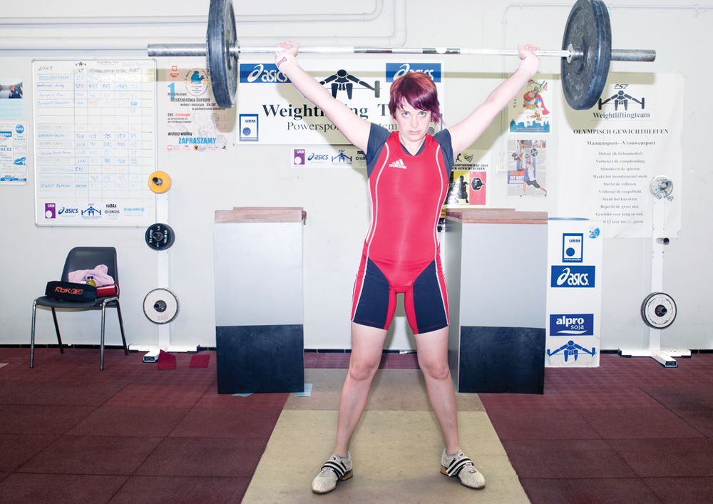 Belgian weightlifters - The Word
