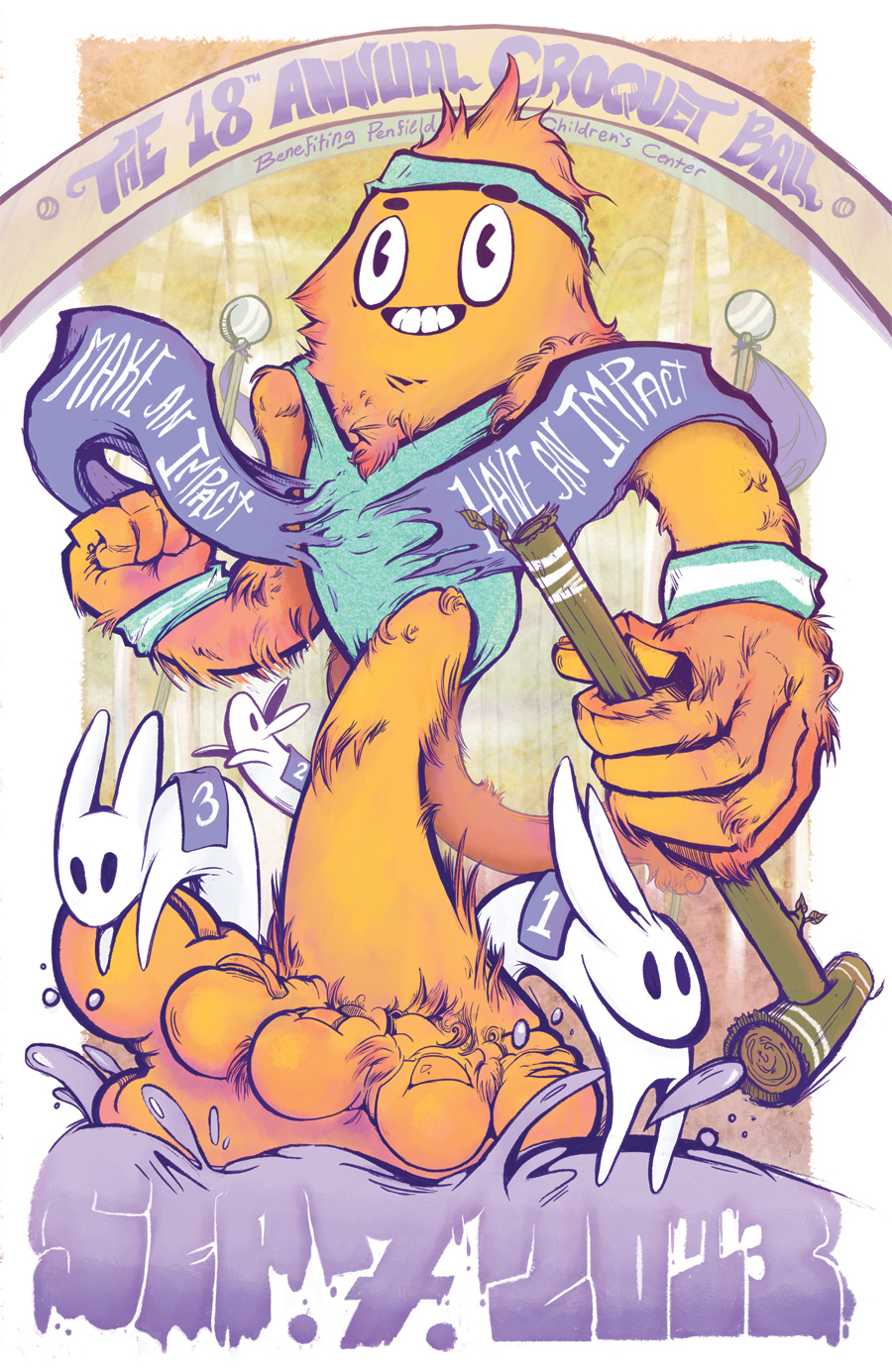 Croquet Poster