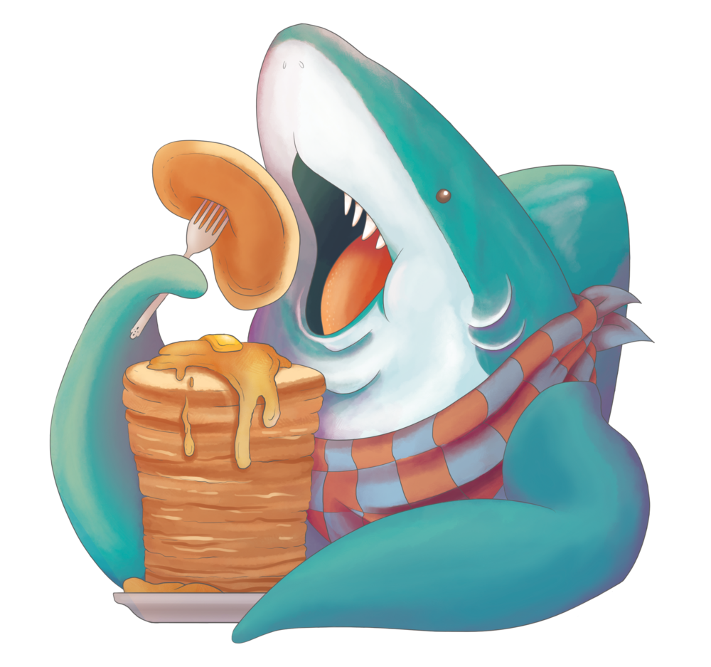 Stack Shark Illustration
