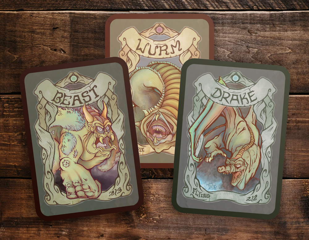 Custom Token Designs to be played with Magic: The Gathering