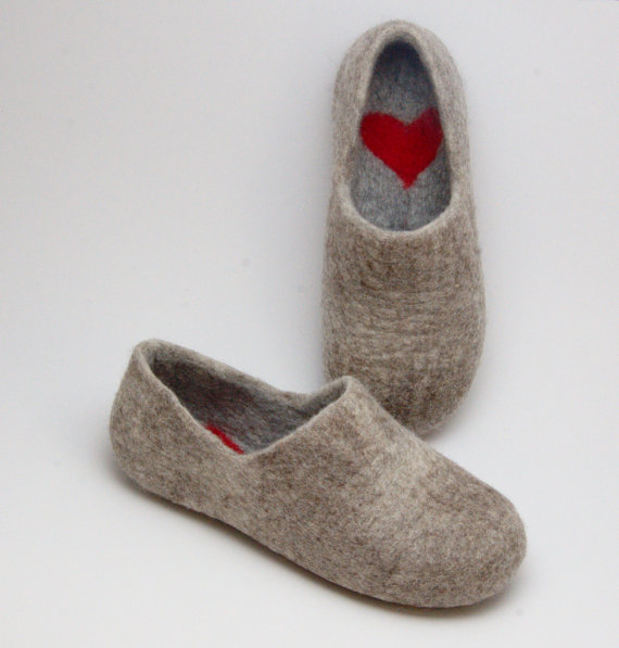 …Deep down I am just a 50 year old cat lady trapped in a 26 year olds body. Give me a blanket, these wool slippers, something to sew and I'm set for the cold. Found  here