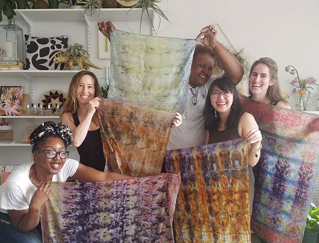 Look at these cuties! We have a few more slots for our kitchen dye workshop at an amazing co-op in Frederick next Saturday! Tickets are available on our Facebook page! Go grab em!