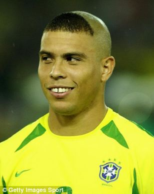 Ronaldos Haircut Is So Bad I Couldnt Even Think Of Something That It Looked Like Had A Ton Captions For Meme Though Here Are Those