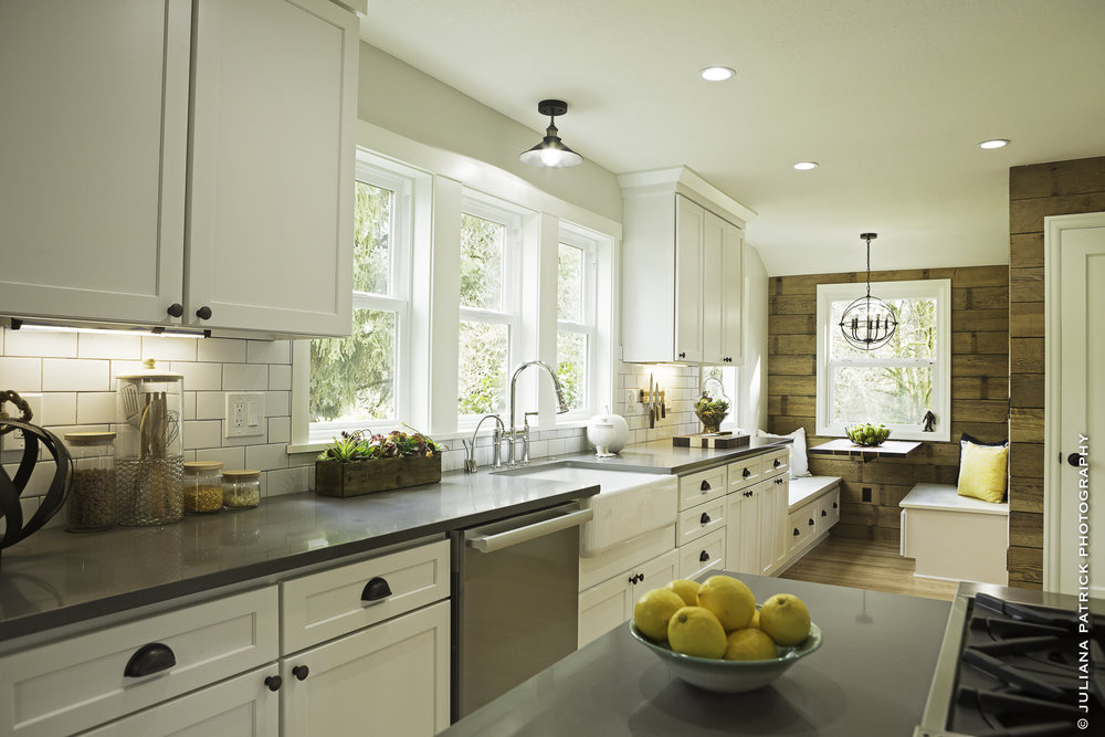 SW TAYLORS FERRY ROAD  KITCHEN/DINING/LIVING ROOM REMODEL ---------- RENOVATION WHISPERER HOUSE  AS SEEN ON HGTV