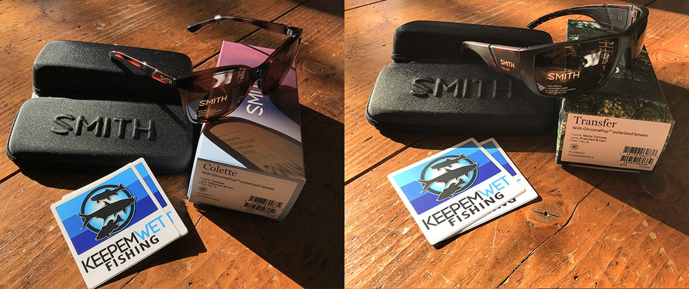Up for grabs! Men's and women's winners will feel the love from our partners at SMITH Optics.