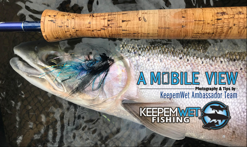 Make sure you have enough phone storage before you get on the river. Erase photos you don't want. I've been in the middle of taking photos and received a message saying storage full.  Photo by Marty Sheppard, KWF Ambassador.