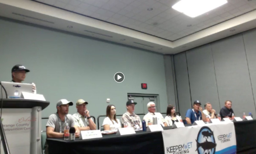 The Branding of Catch and Release discussion panel featured a mix of angling industry and science professionals. You can find the discussion recorded and linked in the paragraph below.