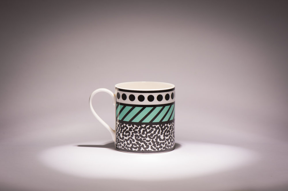 This little beauty is @camillewalala 's Hackney mug design. We purchased it at some exhibit of hers in Islington. It was when my wife was launching her business and we were both big fans of Ms Walala. Thanks to the wonder of Instagram my wife had told her we were coming and wanted to say hello. The night was crazy busy so we just managed a little acknowledgment and a wave but it was very exciting. Seeing the success of Camille Walala has inspired and driven my wife and it's a pleasure to watch them both succeed more and more. It also holds an ace amount of tea.