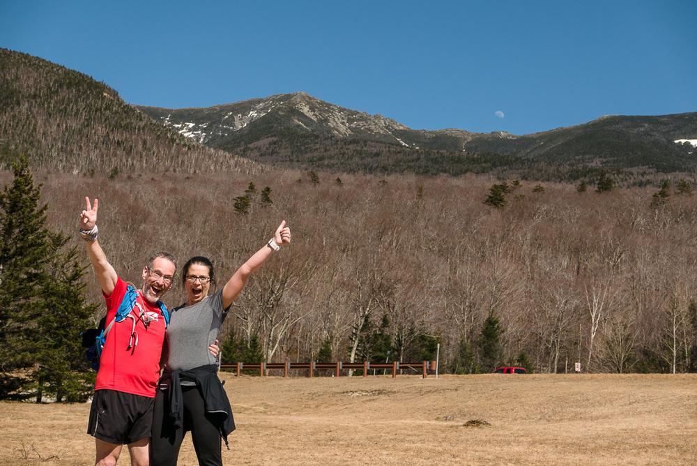 Nous étions là aujourd'hui. Un beau 21km en montagne et nous a