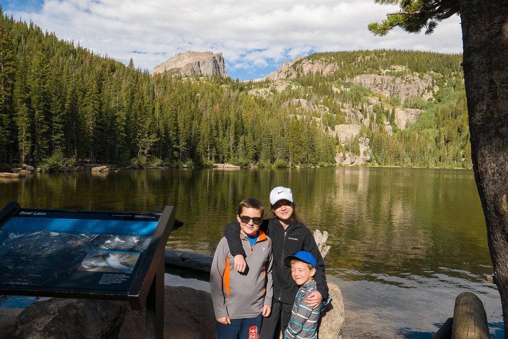 Bear Lake, au départ.