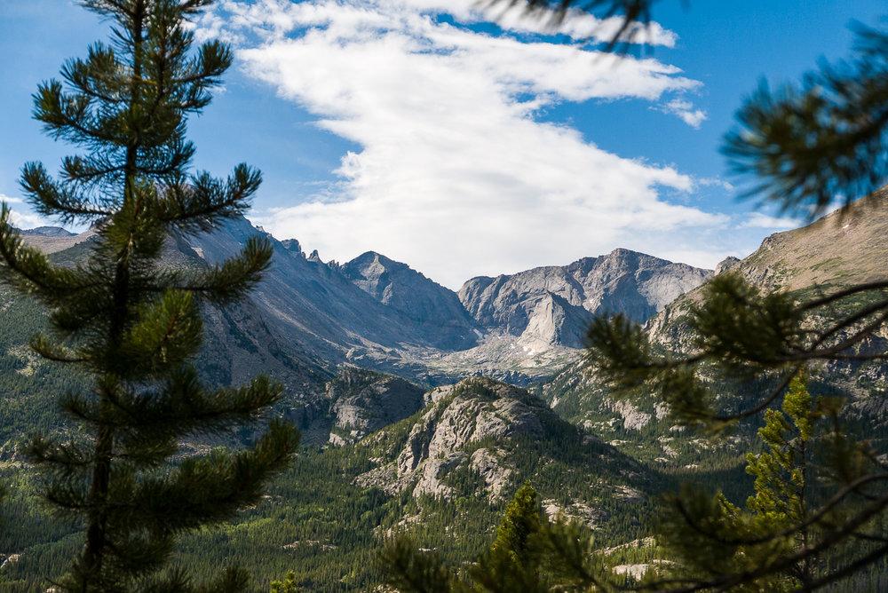 Une vue incroyable tout au long de l'ascension.