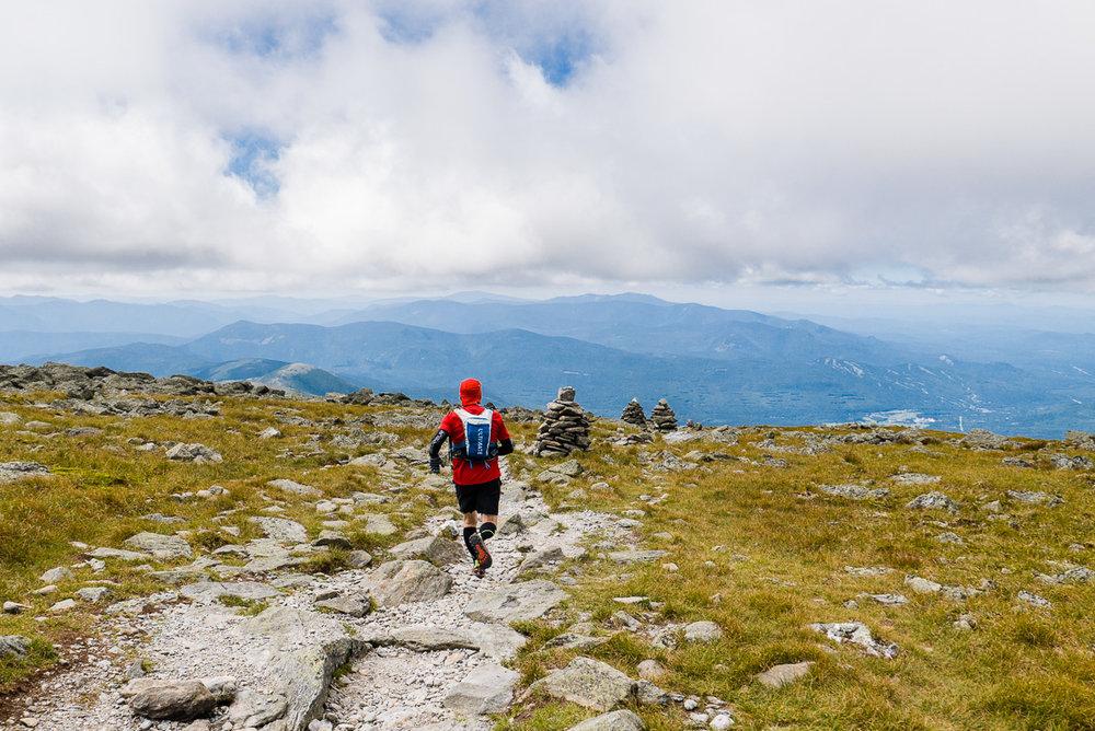 Première sortie avec les Lone Peak 3.0, au Mont Washington, dans les Montagnes Blanches.