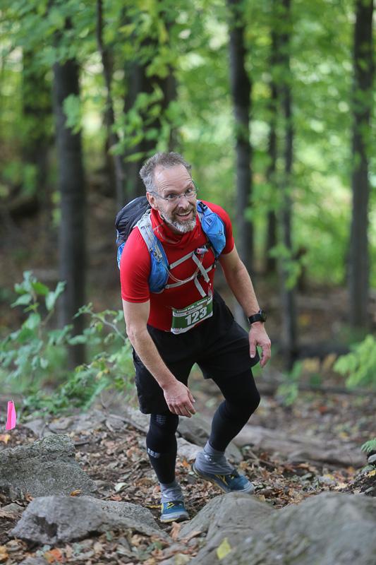 La troisième montée de Bromont, au 11ème kilomètre, était t