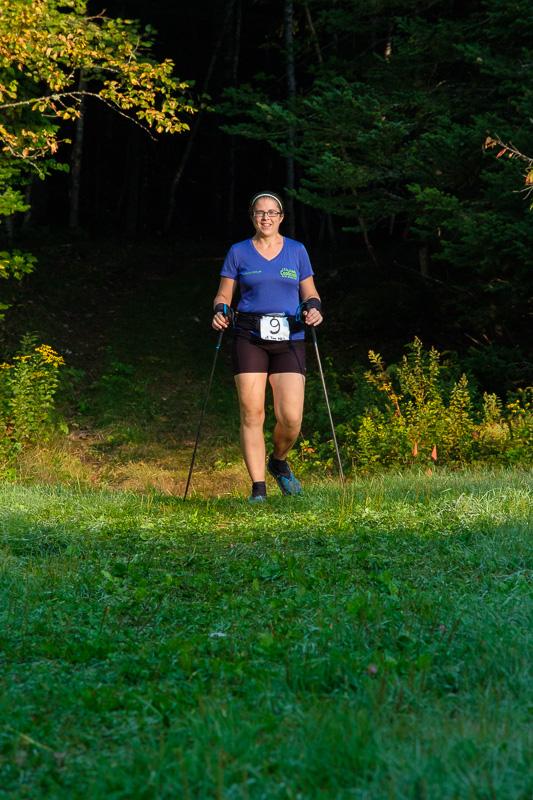 Edith qui terminait son 17ème tour (95km)